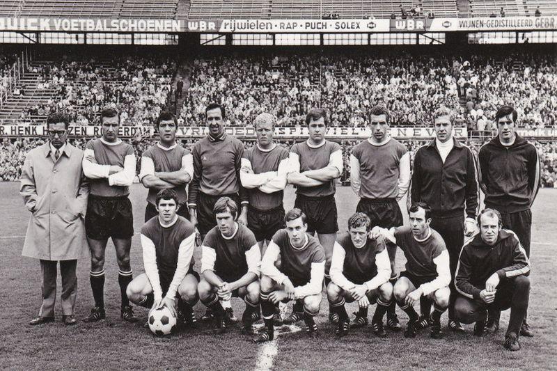 Selectiefoto 1968-1969 | Mijn Feyenoord Verzameling