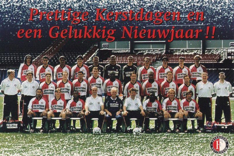 Kerstgroet Aan Alle Bezoekers En Medeverzamelaars Mijn Feyenoord